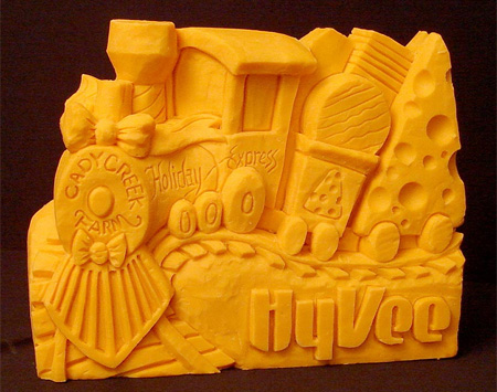 Amazing Cheese Sculptures 4