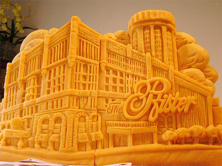 Amazing Cheese Sculptures 7