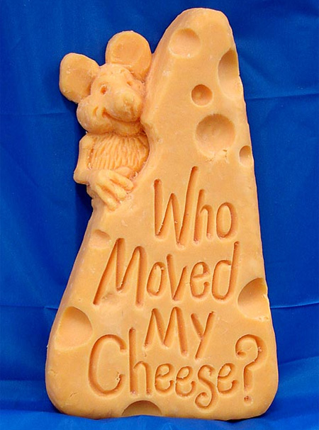 Amazing Cheese Sculptures 8
