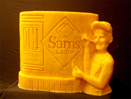 Amazing Cheese Sculptures 11