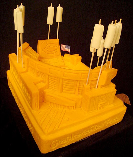 Amazing Cheese Sculptures 14