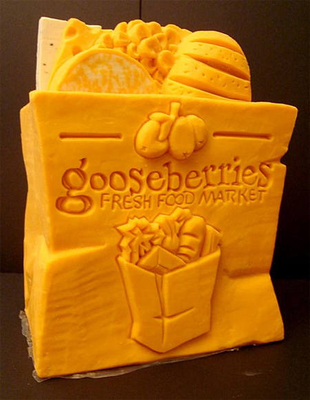 Amazing Cheese Sculptures 15