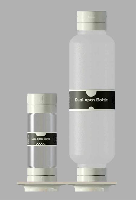 Dual-open Bottle