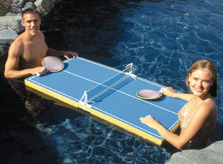 Floating Table Tennis Table