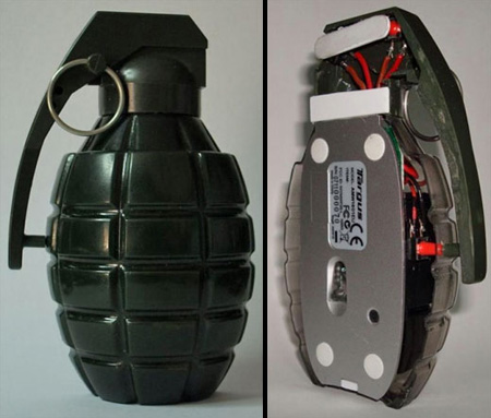 Grenade Computer Mouse