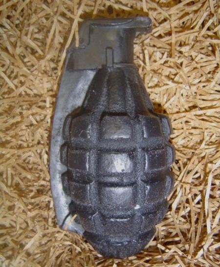 Grenade Soap