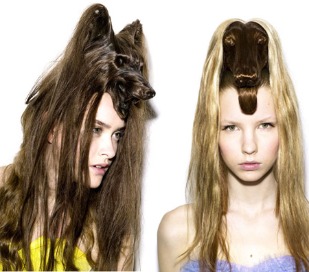 Animal Hair Styles by Nagi Noda