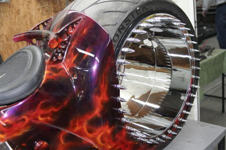 Hubless Bike Wheel