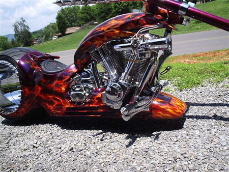 Hubless Bike