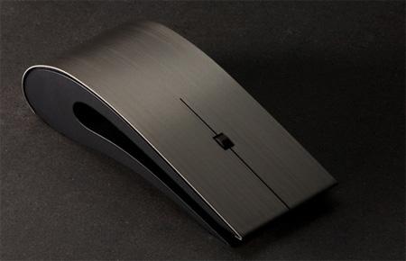 Titanium ID Computer Mouse