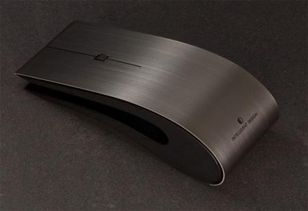 Titanium ID Bluetooth Mouse