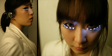 LED Eyelashes from Korea