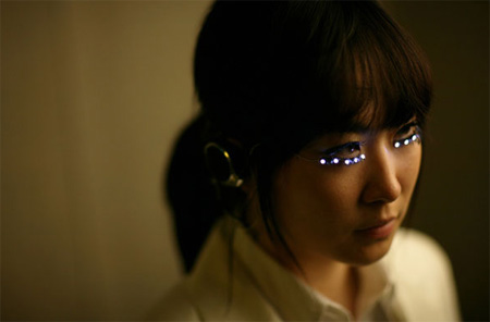 Futuristic LED Eyelashes