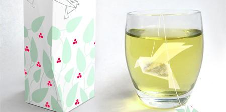 Origami Tea Packaging