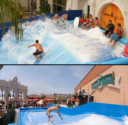 surfing pool