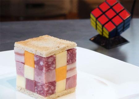 Rubiks Cube Sandwich