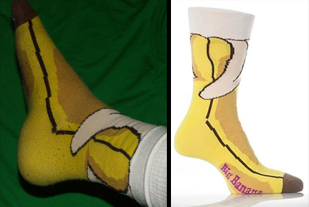 Big Banana Socks