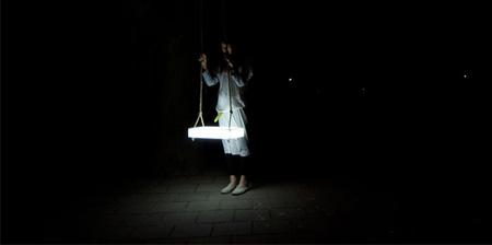 Cool LED Swing Lamp