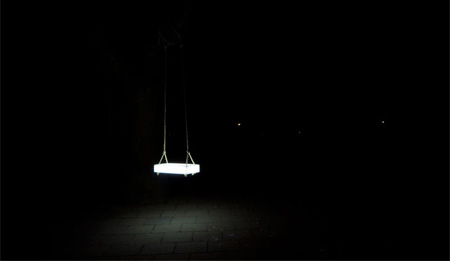 Swing Lamp by BCXSY