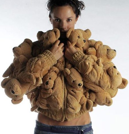 Cute Teddy Bear Coat