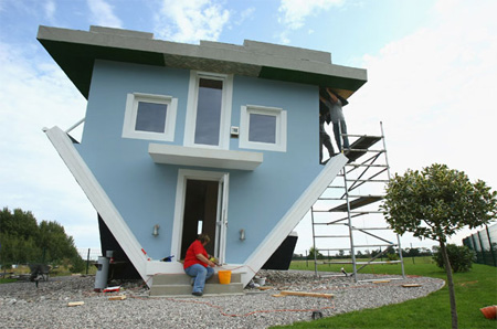 Upside Down House in Trassenheide