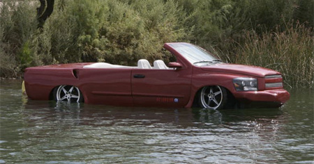 Car Does 60mph on Water