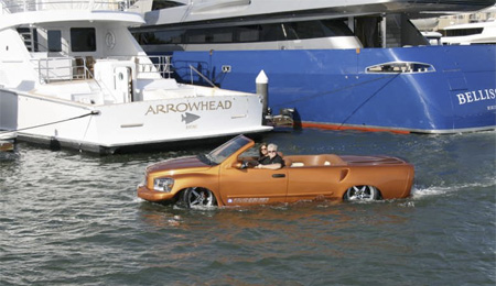 Car Goes 60mph on Water