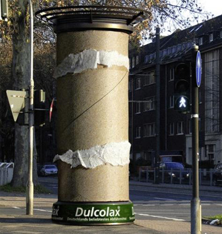 Dulcolax Column Advertisement