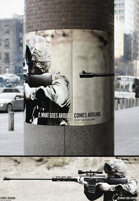 Global Coalition for Peace Column Advertisement