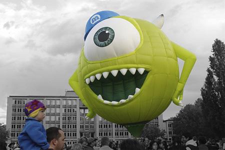 Monsters Inc Hot Air Balloon