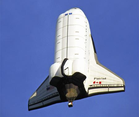 Space Shuttle Hot Air Balloon