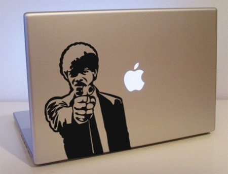 Pulp Fiction MacBook Sticker