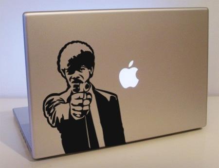 Pulp Fiction MacBook Sticker