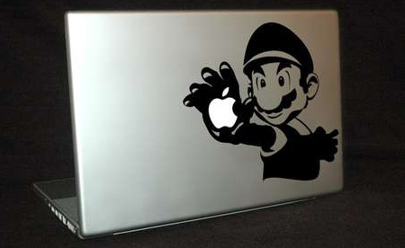 Super Mario MacBook Sticker