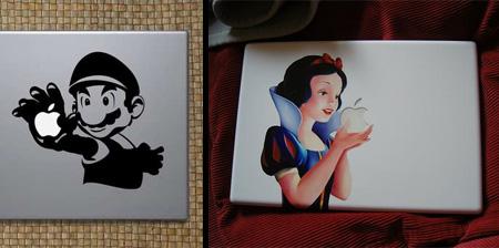 10 Cool Apple MacBook Stickers
