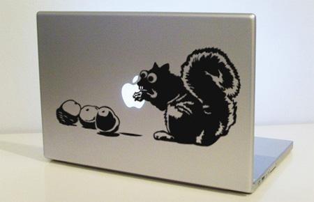 Squirrel MacBook Sticker