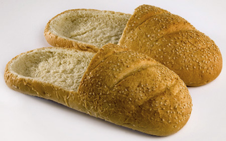 Shoes Made Out of Bread