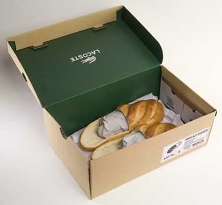 Loafers made of Bread