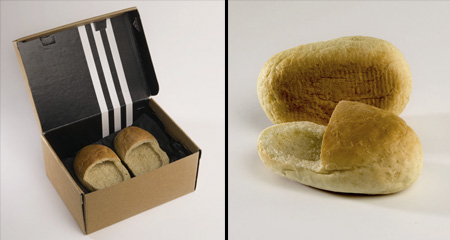 Loafers Made Out of Bread