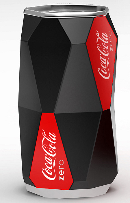Diet Coke Can Concept