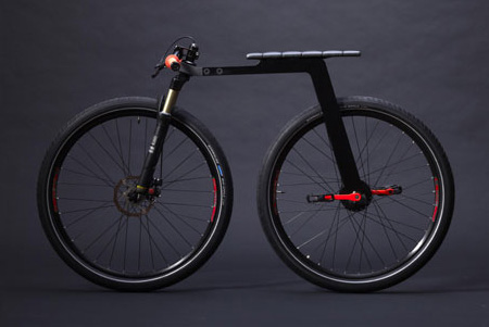 Bikes Without Chains Minimal City Bike Concept