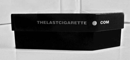 Casket Shaped Cigarette Packaging