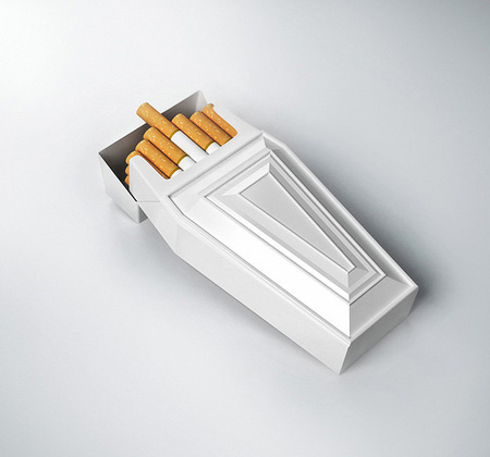 Casket Cigarette Packaging