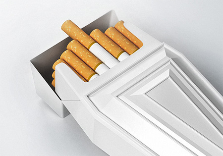 Coffin Cigarette Packaging