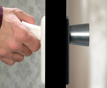 Disappearing Door Knob Concept