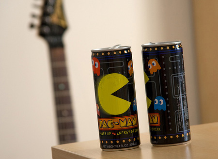 Pac-Man Energy Drink