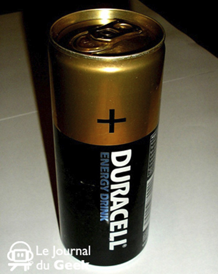 Duracell Battery Energy Drink