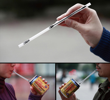 Electrical Straw Energy Drink