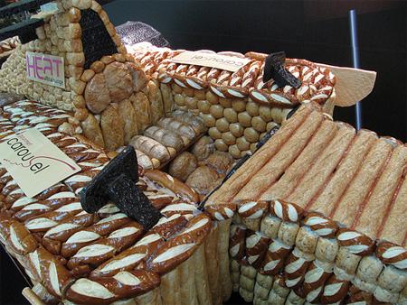 Bread Formula 1 Car