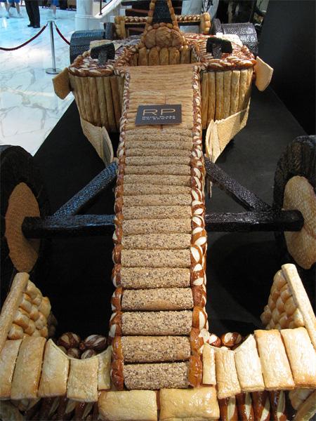 Bread Formula 1 Race Car